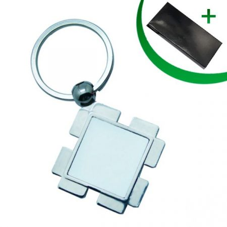 Метален ключодържател - ДИАМАНТ