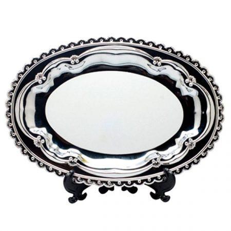 Метална чиния (елипса)