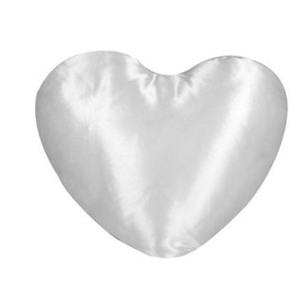 Калъфка за възглавница сърце - САТЕН