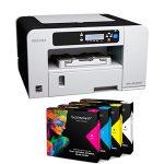 Принтер А4 Ricoh SG 2100n + 4 касети Sublisplash /made in Germany/ + хартия