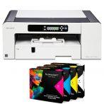 Принтер A3 Ricoh SG 7100 DN + 4 касети Sublisplash /made in Germany/ + хартия