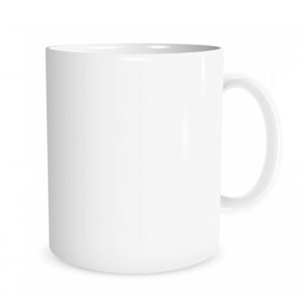 Бяла чаша - клас АА+ JS, Best Sublimation
