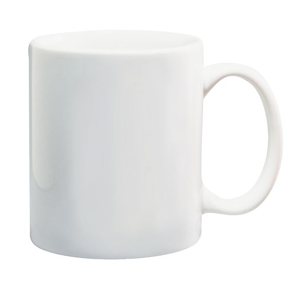 3D бяла чаша