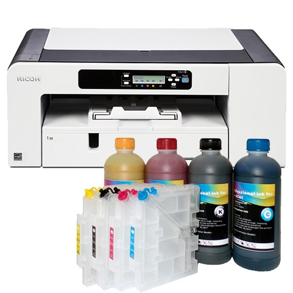 Принтер A3 Ricoh SG 7100 DN + 4x500 мл сублим. мастило и 4 презареждаши касети + хартия