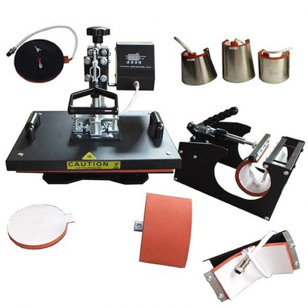 Multi-purpose Manual Heat Press Machine 8in1 -