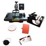 Multi-purpose Manual Heat Press Machine 4in1 -