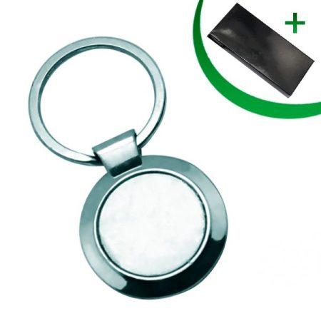 Метален ключодържател - КРЪГ