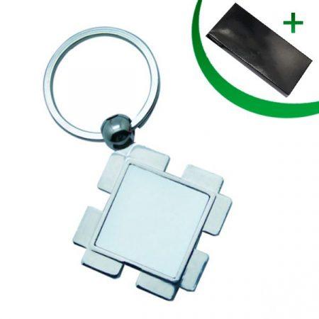 Metal keyring - Diamond