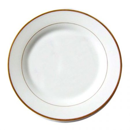 Чиния със златен кант (25-27 см)