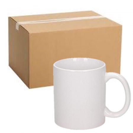 36 pcs 11 oz white mug, grade B, Best Sublimation