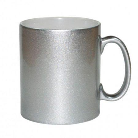 11oz Sparkling Mug (Silver)