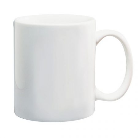 11 oz white mug, Matt
