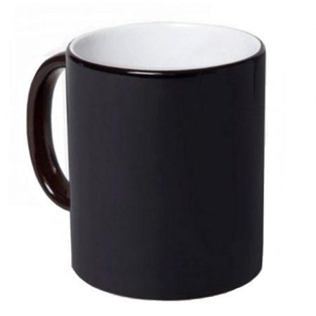 Черна магическа чаша МАТ, Best Sublimation