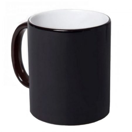 11oz Color Changing Mugs (Black Matt), Best Sublimation