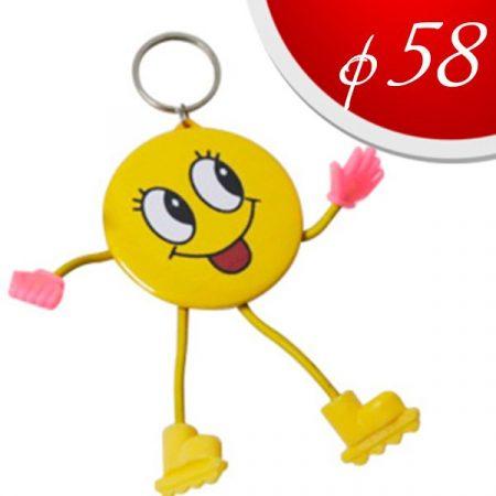Badge keyring - toy Ф58