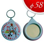 Mirror key ring Ф58