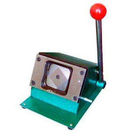 Щанца за изрязване на заготовки за кръгли значки ф 75 мм