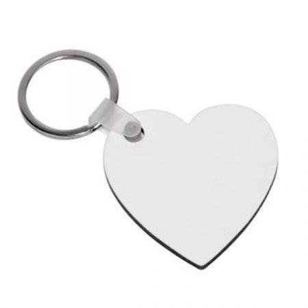 Hardboard Keyring - Heart