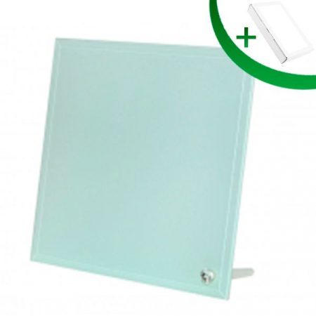 Glass Frame 25 with Smooth Edge (20*20*0.5 cm)