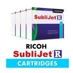 Sublimation cartridge Sublijet - for Ricoh 2600/3300/7700