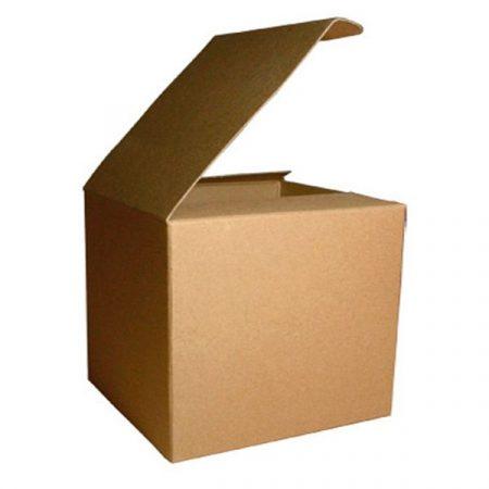 Brown Cardboard Mug Box