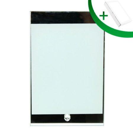 Стъклена фоторамка N3 (15 х 23 см.)