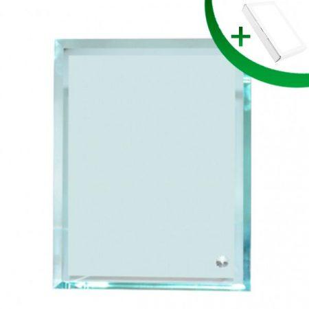 Crystal Glass Frame 15(18*13*1 cm)