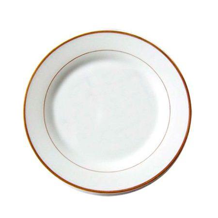 Чиния със златен кант (20 см)