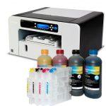 Printer Ricoh SG 3110dn + 4x500 ml sublimation ink + 4 refillable cartridges