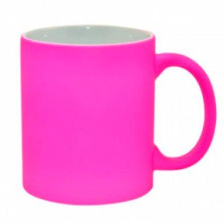 Чаша неон - розова