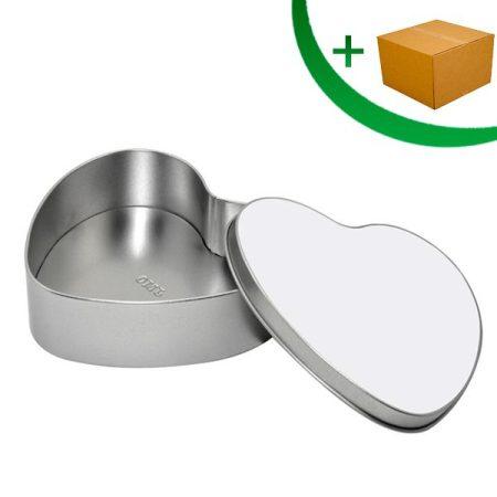 Метална кутия СЪРЦЕ (15см)