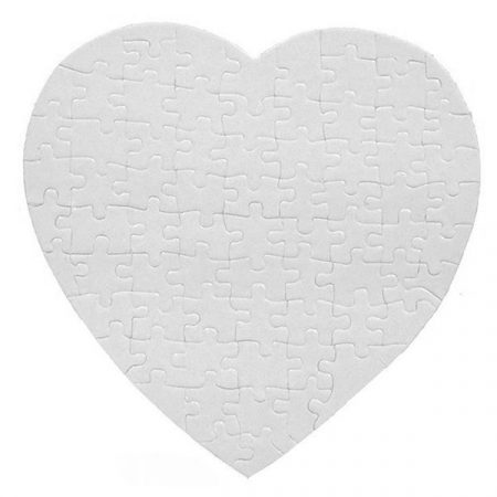 Heart Puzzle (sparle paper)