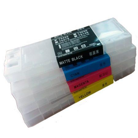 Refillable cartridge for EPSON