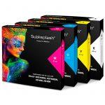 Комплект 4 бр. касети за сублимация Sublisplash /made in Germany/за принтери Ricoh 2100/3110/7100