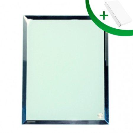 Стъклена фоторамка N1 (18 х 23 см.)