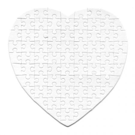 Magnetic Puzzle HEART