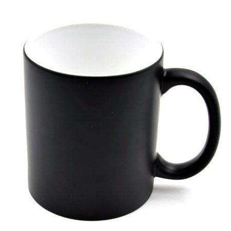 Черна магическа чаша Semi Glossy, ONE