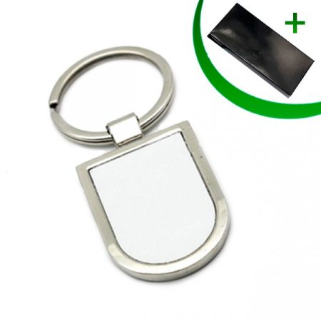 Metal keyring - U-shaped