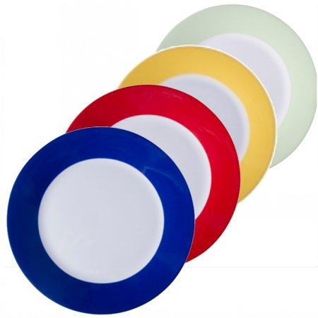 Чиния с цветни елементи (20 см)