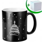 Engraving black magic mug - HAPPY BIRTHDAY