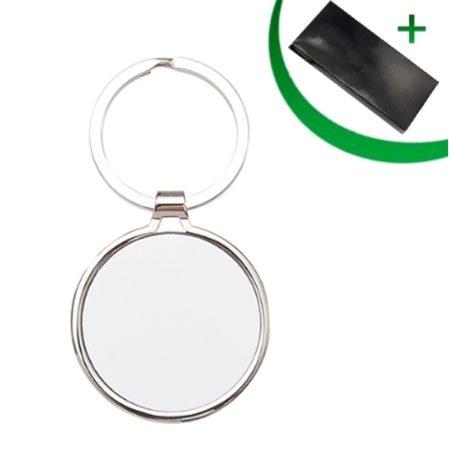 Metal keyring - Circle lUX