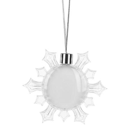 Hanging snowflake - 8.5 sm