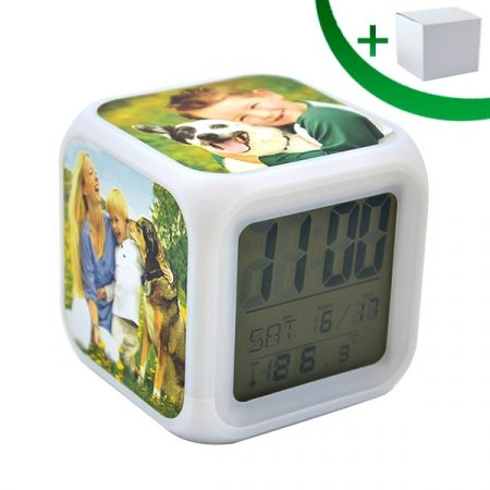 Glowing Alarm Clock (7.8 cm)