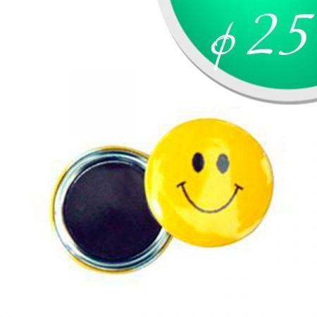 Magnet badges 25 mm. (50 pcs)