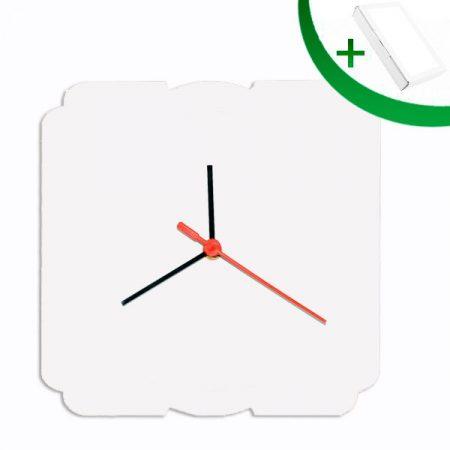 MDF Clock 20 sm (rectangular)