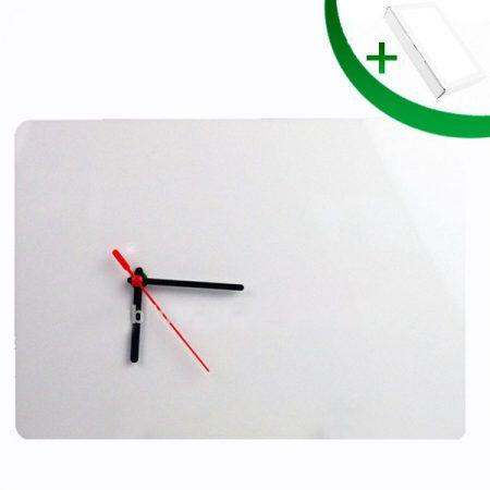 MDF Clock 20x28 sm (rectangular)