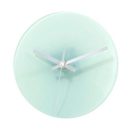 Glass clock (18 cm)