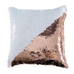 Sequin Pillow - champagne