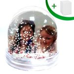 Water globe - small (hearts and snow)