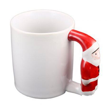 11oz Mug with Handle Santa Claus